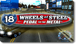 18 Wheels of Steel Pedal to the Metal logo