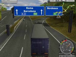 Euro Truck Simulator jocuri camion