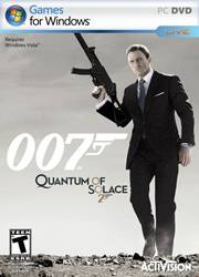 James Bond 007 in Quantum of Solace
