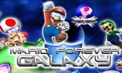 Mario Forever Galaxy logo