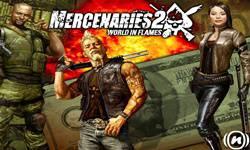 Mercenaries 2 World in Flames logo