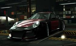 Need for Speed ProStreet porsche logo