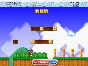 Super Mario 3 Forever - Lost Map