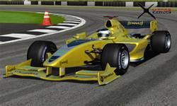 x motor racing logo