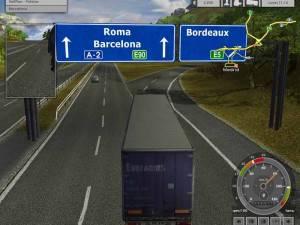 Euro Truck Simulator jocuri camion